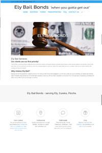 Ely Bail bonds website testimonial