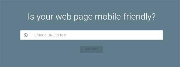 mobile responsive website design test